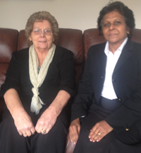 Mrs Gossington meets Sushila Abraham