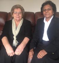 Mrs Gossington meets Sushila Abraham